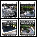 A Diy water garden construction completed with several easy growing and nice looking shallow water plants.