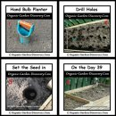 Planting potatoes can use a hand bulb planter to drill holes and set the seed in it. And they will grow into leaves.