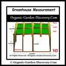 A completed greenhouse Measurement