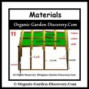 Materials for building a greenhouse