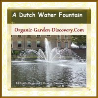 Cool water fountain from Holland
